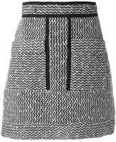 Carven patterned a-line skirt