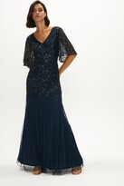 Thumbnail for your product : Coast Sequin Angel Sleeve Maxi Dress