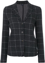 Woolrich grid patterned blazer