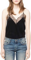 Zadig & Voltaire Christy Rhinestone Deluxe Camisole