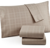 Charter Club CLOSEOUT! Damask Windowpane 500 Thread Count Pima Cotton California King Sheet Set