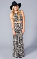 MUMU Eli's Trousers ~ Velveeta Cheetah Stretch