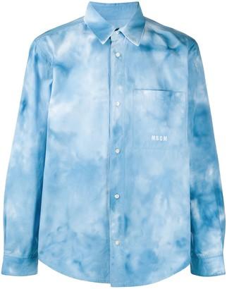 MSGM Tie-Dye Shirt