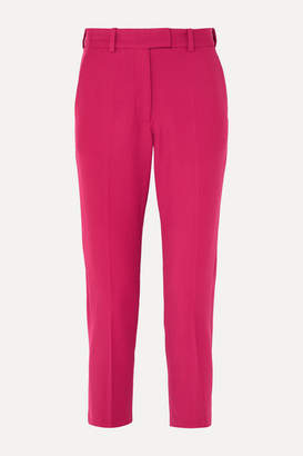 Racil Crepe Slim-leg Pants - Fuchsia