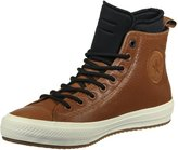 Converse Mens Chuck Taylor All Star II Hi Brown Leather Shoes 9 US
