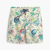 J.Crew Boys' board short in tropical fish
