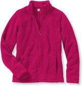 L.L. Bean Women's Comfort Fleece, Stand-Up-Collar Jacket