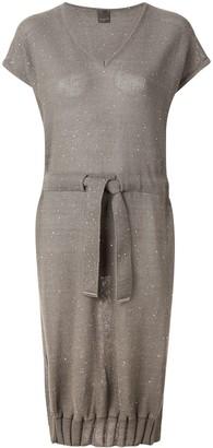 Lorena Antoniazzi sequin-embellished knitted dress