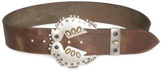 Isabel Marant Abigail Bird Buckle Leather Belt