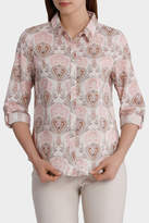 Must Have Printed Cotton 3/4 Sleeve Shirt