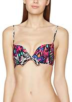 Triumph Women's Hot Fiesta MWHU Bikini Top, Multicoloured (MULTI-COLOUR)
