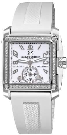 Baume & Mercier Men's A8842 Hampton Square Dial Diamond Watch
