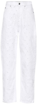 Etoile Isabel Marant Lorny high-rise carrot jeans