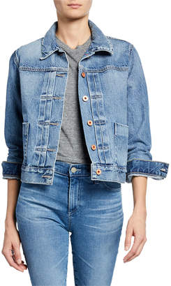 AG Jeans Eliette Cropped Denim Jacket