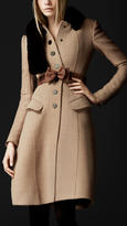 Burberry Crêpe Wool Tailored Coat