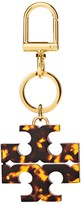 Tory Burch STACKED T TORTOISE KEY FOB