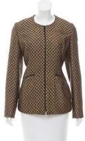 Theyskens' Theory Metallic Tweed Jacket