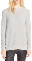 Vince Directional Rib Knit Wool & Cashmere Sweater