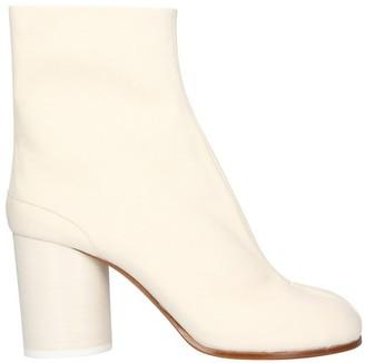 Maison Margiela Tabi heeled ankle boots