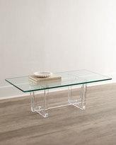 Interlude Aldon Acrylic Coffee Table