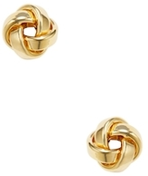 Candela 14K Yellow Gold Love Knot Stud Earrings