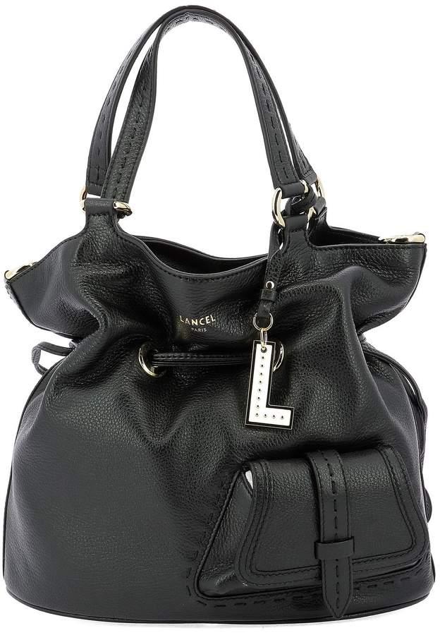 Lancel Drawstring Bucket Bag