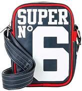 Superdry Super 6 Festival, Men's Backpack, Blu (Navy/optic), 16.0x23.0x6.0 cm (W x H L)
