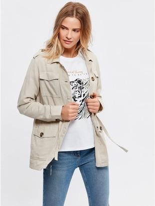 M&Co Linen safari jacket