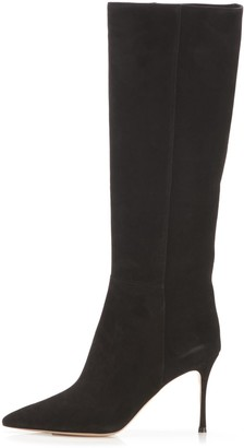 Marion Parke Marie Boot in Black Suede