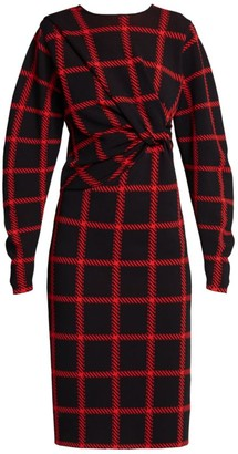 Stella McCartney Lumberjack-Check Knit Dress