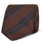 Ermenegildo Zegna - 7cm Striped Silk Tie