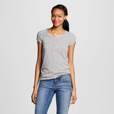 Mossimo Women's Vee T-Shirt Stripe Juniors')