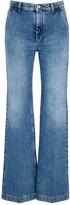 Loewe Blue Flared-leg Jeans
