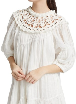 Sea Cleo Crochet Combo Dress