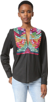 Mara Hoffman Embroidered Top