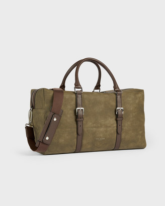 Ted Baker RODES Nubuck PU Holdall