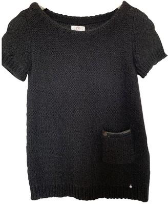 Des Petits Hauts Black Wool Knitwear