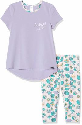 Skiny Girls Madchen Pyjama 3/4 Lang Cosy Night Sleep Bottoms