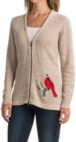 Woolrich Cardinal Cardigan Sweater - Wool-Infused Ramie Blend (For Women)