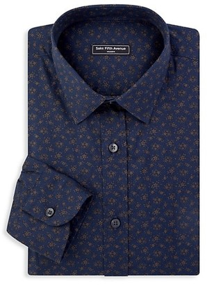 Saks Fifth Avenue MODERN Printed Sport Shirt