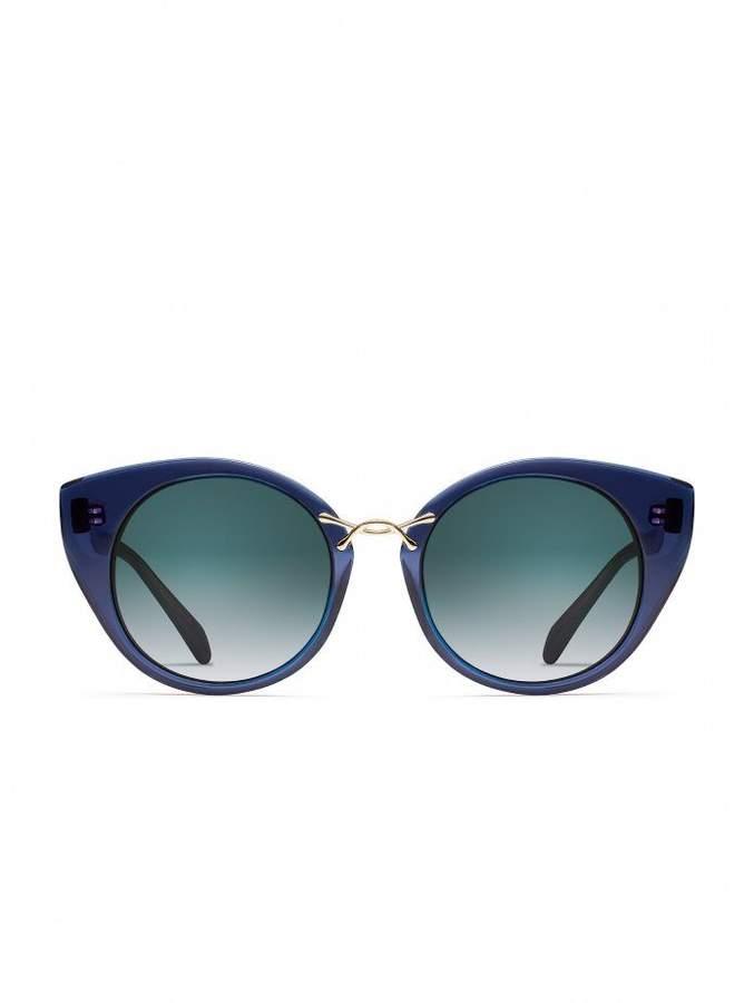 aaa26cb49864a Oscar de la Renta Gold Women s Sunglasses - ShopStyle