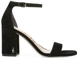 Sam Edelman Daniella Ankle-Strap Suede Sandals