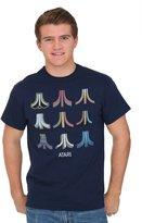 Freeze Mens mens Atari Logo Color Options Men's T-Shirt