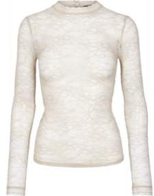 Rosemunde Delicate Lace Blouse - S / Atmosphere - White/Natural