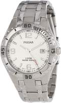 Pulsar Men's PXH705 Sport Stainless Steel Dial Watch