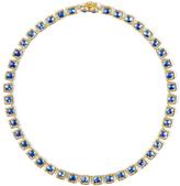 Larkspur & Hawk Bella Mini Riviere Necklace - Blue