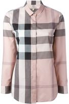 Burberry checked shirt - women - Cotton - XS