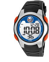 Game Time Training Camp New York Islanders Silver Tone Digital Chronograph Watch - NHL-TRC-NYI - Men