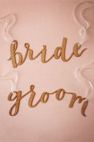 BHLDN Calligraphy Chair Signs