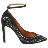 Isabel Marant Black Suede Heels